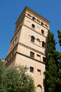 La Zuda Tower (or Azuda) in Zaragoza Stock Photography