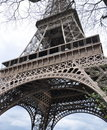 Laausflug Eiffel - Eiffelturm in Paris Stockfotos
