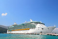 Labadee haiti february royal caribbean cruise ship independence seas docked private port labadee caribbean island haiti february Stock Photos