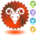Label - Aries Royalty Free Stock Photo