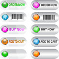 Label/button set for ecommerce Royalty Free Stock Photo