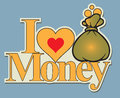 Label I love money