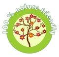 Label 100% Nature Friendly