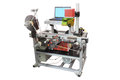 Label printing machine Royalty Free Stock Photo