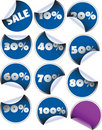 Labels badges and stickers Royalty Free Stock Photo