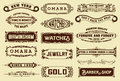 17 Labels and banners. Royalty Free Stock Photo