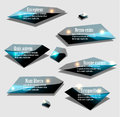 Labels vector set this is file of eps format Stock Image
