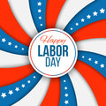 Labor day background. Vector illustration with stars and stripes for american national holiday. Royalty Free Stock Photo