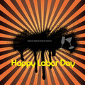 Labor Day banner Royalty Free Stock Photos