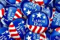 Labor day button background