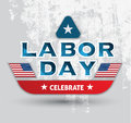 Labor day celebrate poster and card Royalty Free Stock Photo