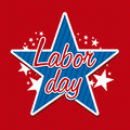 Labor day design Stock Image