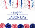 Labor day message Royalty Free Stock Photo