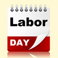 Labor Day Shows Holiday American And Patriotism Royalty Free Stock Photo