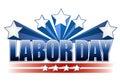 Labor day text design
