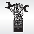 Labor day vector illustration conceptual eps Stock Photo