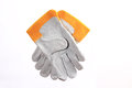 Labor protection gloves this are Royalty Free Stock Photo