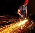 Labor at work Royalty Free Stock Photo