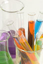 Laboratory glassware Stock Images