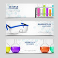 Laboratory Science Banners Set