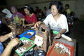 Labour were producing cigarettes in a factory in the city of solo central java indonesia Stock Photography