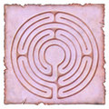 Into the Labyrinth - 6 circuit Royalty Free Stock Images