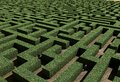 Labyrinth illustration of a made in d Stock Photos