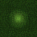 Labyrinth maze background Stock Image