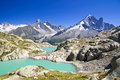 Lac Blanc, Chamonix, France Stock Image