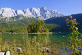 Lac mountains Photographie stock libre de droits