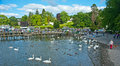 Lac Windermere : Stationnement national Photographie stock libre de droits