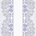 Lace backdrop elegance blue floral background vector illustration Stock Images