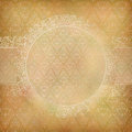 Lace Banner Card Abstract Vint...