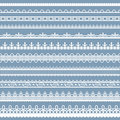 Lace Border Stock Photo