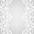 Lace border wedding invitation or greeting card with Royalty Free Stock Photo