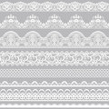 Lace borders Royalty Free Stock Photo