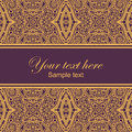 Lace card vector decor ornate Royalty Free Stock Photo