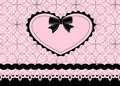 Lace Heart Royalty Free Stock Images