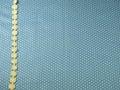 Lace Line On Blue Polka Dot Ba...