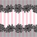 Lace pattern background Stock Photo