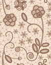 Lace seamless background color illustration Royalty Free Stock Photos