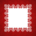 Lace square frame