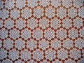 Lace tablecloth Royalty Free Stock Photo