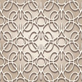Lace texture abstract beige seamless pattern Royalty Free Stock Photo