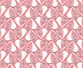 Lace valentines day heart love seamless pattern