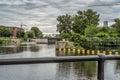 Lachine Canal locks Royalty Free Stock Photo