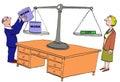Lack of Work Life Balance Royalty Free Stock Photo