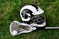 Lacrosse Equipment Royalty Free Stock Images