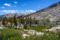 Lacs mosquito, stationnement national de séquoia Photos libres de droits