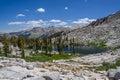 Lacs mosquito, stationnement national de séquoia Image stock